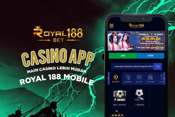 Mobile App Game Slot Online di Situs Royal188