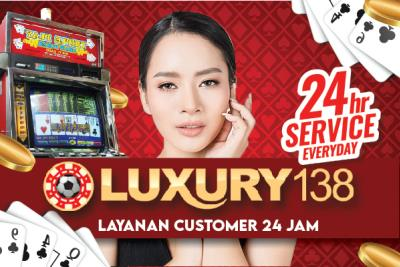 Layanan Customer 24 Jam Game Slot Online di Situs Luxury138