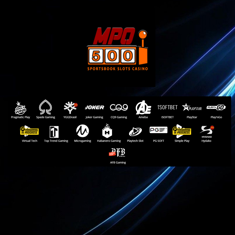 MPO500 list game slot